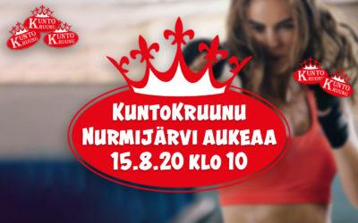 KuntoKruunu Nurmijärvi aukeaa!