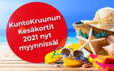 Kesäkortit 2021 myynnissä nyt!